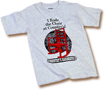"""Country's Youth T-Shirt - """"I Rode the Chair at Country's"""""""